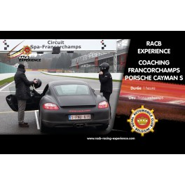 Coaching PORSCHE Cayman S Spa-Francorchamps