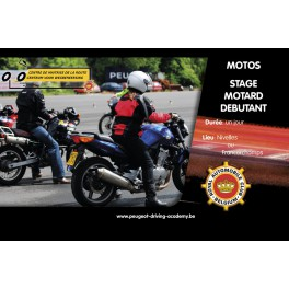 Motos - Stage Motard débutant
